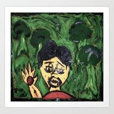 marked scream Art Print