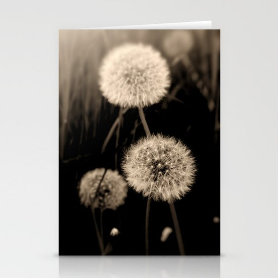 Dandelions Stationery Card