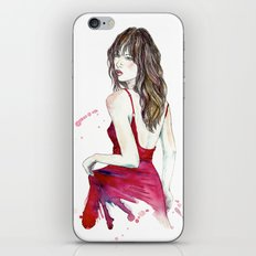 Don't Look Now iPhone & iPod Skin