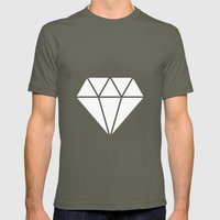 #10 Diamond Mens Fitted Tee Lieutenant SMALL