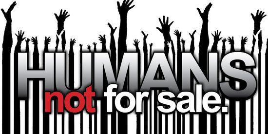 Humans Not For Sale Art Print