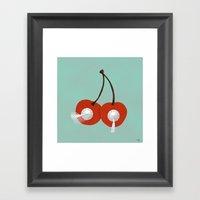 Cherry Topper Framed Art Print