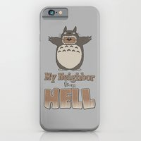 iPhone & iPod Case featuring My Neighbor from Hell by adho1982