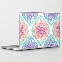 rainbow Laptop & iPad Skins featuring Indian Ink - Rainbow version by micklyn