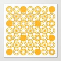 Circle A Canvas Print
