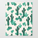Cactus by Andrea Lauren Canvas Print