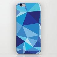 Geometric print iPhone & iPod Skin