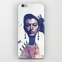 Lady Horizon iPhone & iPod Skin