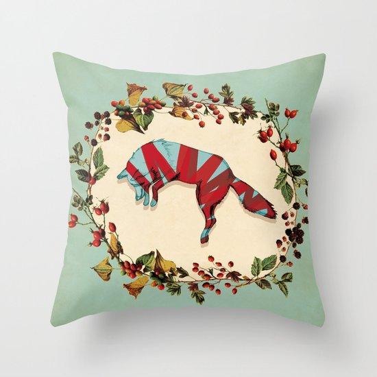 Renard Throw Pillow