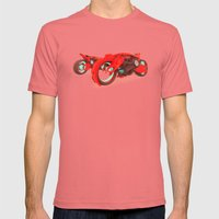 BIXE.CB12 Mens Fitted Tee Pomegranate SMALL
