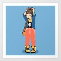 Chihiro Art Print