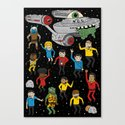 Star Trek The Reanimated Series Canvas Print