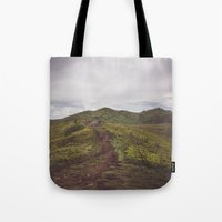 Hiking tales Tote Bag