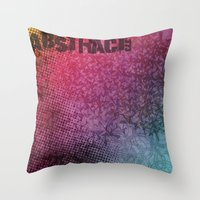 Abstract373 Throw Pillow