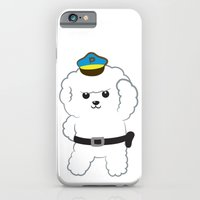 iPhone & iPod Case featuring Animal police - Bichon Frisé by Tetchan