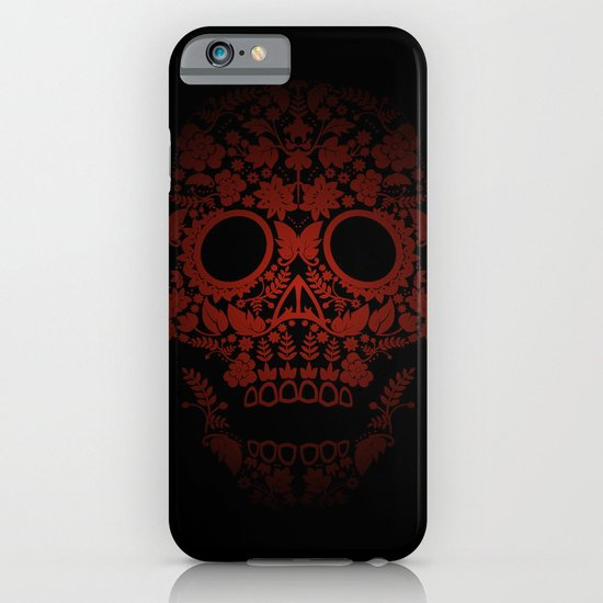Day of the Dead Skull No.20 iPhone & iPod Case