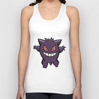 Gengar The Ghost - First… Unisex Tank Top