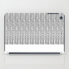 Knit Outline iPad Case