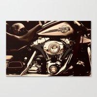 HD Brown tone Canvas Print