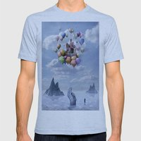 Sweet Castle Mens Fitted Tee Athletic Blue SMALL