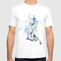 Scout Squirt Mens Fitted Tee White SMALL