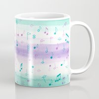 #102. JENNI (Musical Notes) Mug