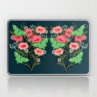 Luna Moth Florals by Andrea Lauren  Laptop & iPad Skin