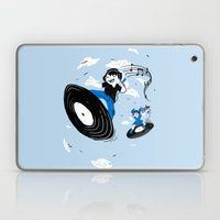 Surfing the Beats Laptop & iPad Skin