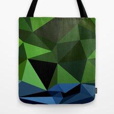 Polygon Heroes - Hulk Tote Bag