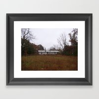 Houseghost 614 Framed Art Print