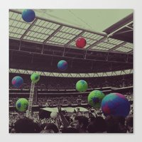 Coldplay at Wembley Canvas Print