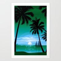 Sunset Five Art Print