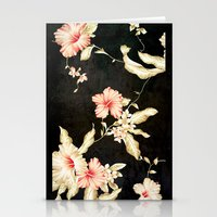 VINTAGE FLOWERS III - Fo… Stationery Cards