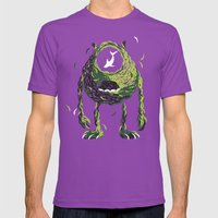 Wazowski Of Fish Mens Fitted Tee Ultraviolet SMALL