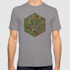 Panelscape - #6 society6 custom generation Mens Fitted Tee Athletic Grey SMALL