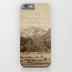 Keats: Poetry iPhone 6s Slim Case