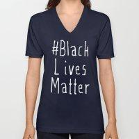 #Black Lives Matter Unisex V-Neck