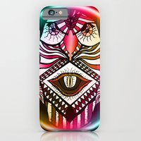 iPhone & iPod Case featuring Night Hawk by Sacred Symmetry