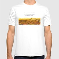 The Past Is Like A Forei… Mens Fitted Tee White SMALL