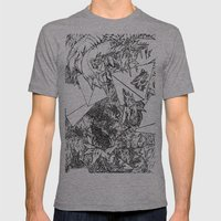 Untitled #1 Mens Fitted Tee Athletic Grey SMALL