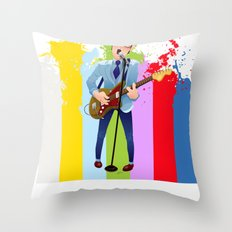 Elvis (Costello) Lives! Throw Pillow