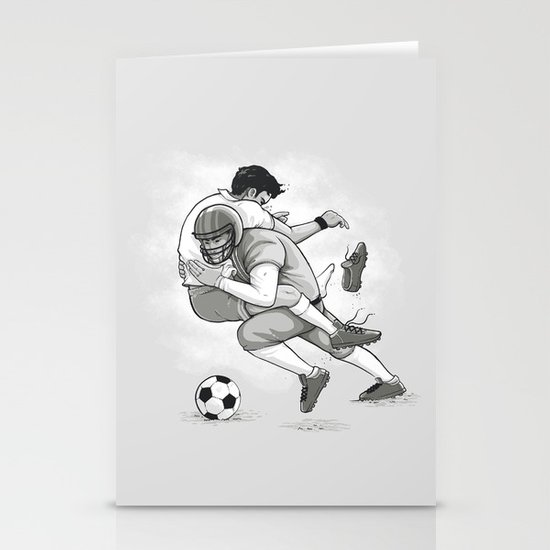 This is Football! Stationery Card