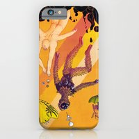 iPhone & iPod Case featuring La chute vers le haut (The Upward Fall) by Jæn ∞