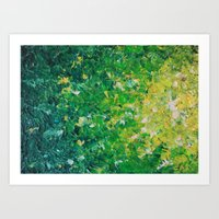 LAKE GRASS - Original Ac… Art Print