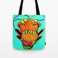 Food Face Tote Bag