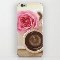 Rose Fisheye  iPhone & iPod Skin