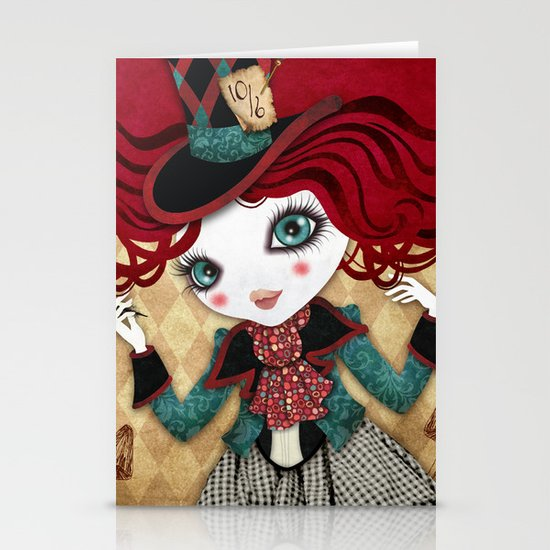 Mad Riddle Stationery Card