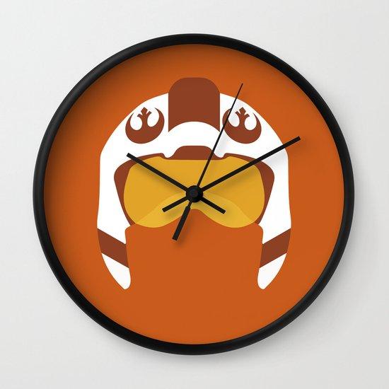 Star Wars Minimalism - Red Five Wall Clock