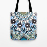 Melting Colors In Symmetry Tote Bag