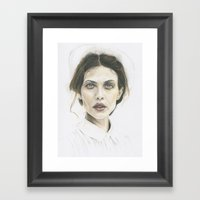 Aymeline Framed Art Print